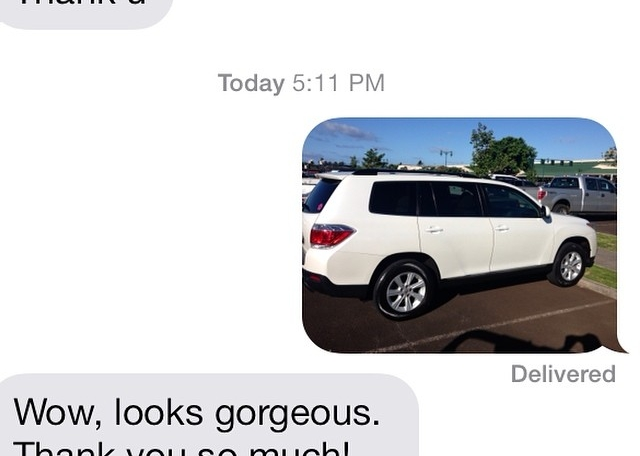 Another satisfied client! #cardetailoftheday #808auto #toyota #highlander #kauai