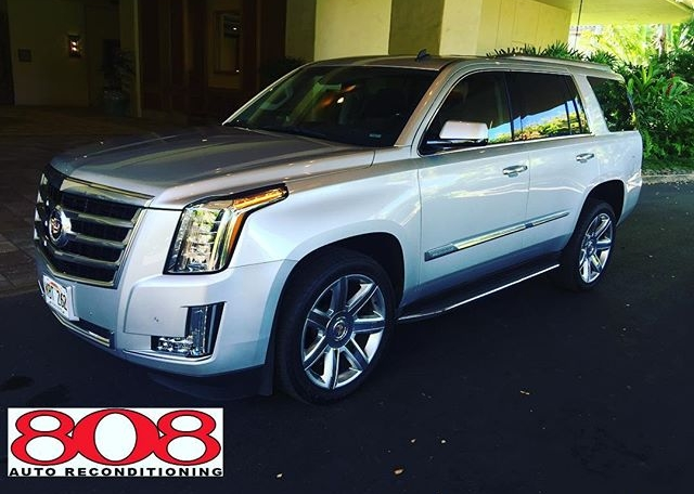 Have last minute VIP's coming into town? If you don't mind 6am, we'll take care of it!  #cadillac #escalade #vip #kauai #detailersofinstagram #808auto